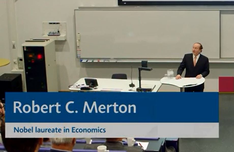 Professor Merton on the global challenge of funding retirement