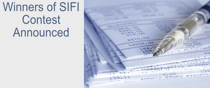 Winners of SIFI Contest Announced