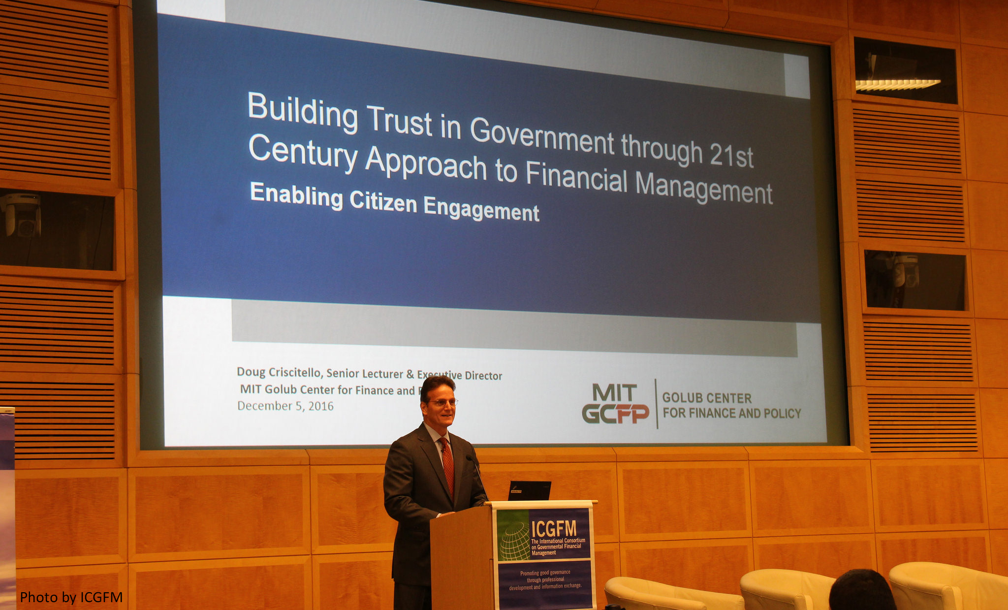 Building Trust in Government through a 21st Century Approach to Financial Management