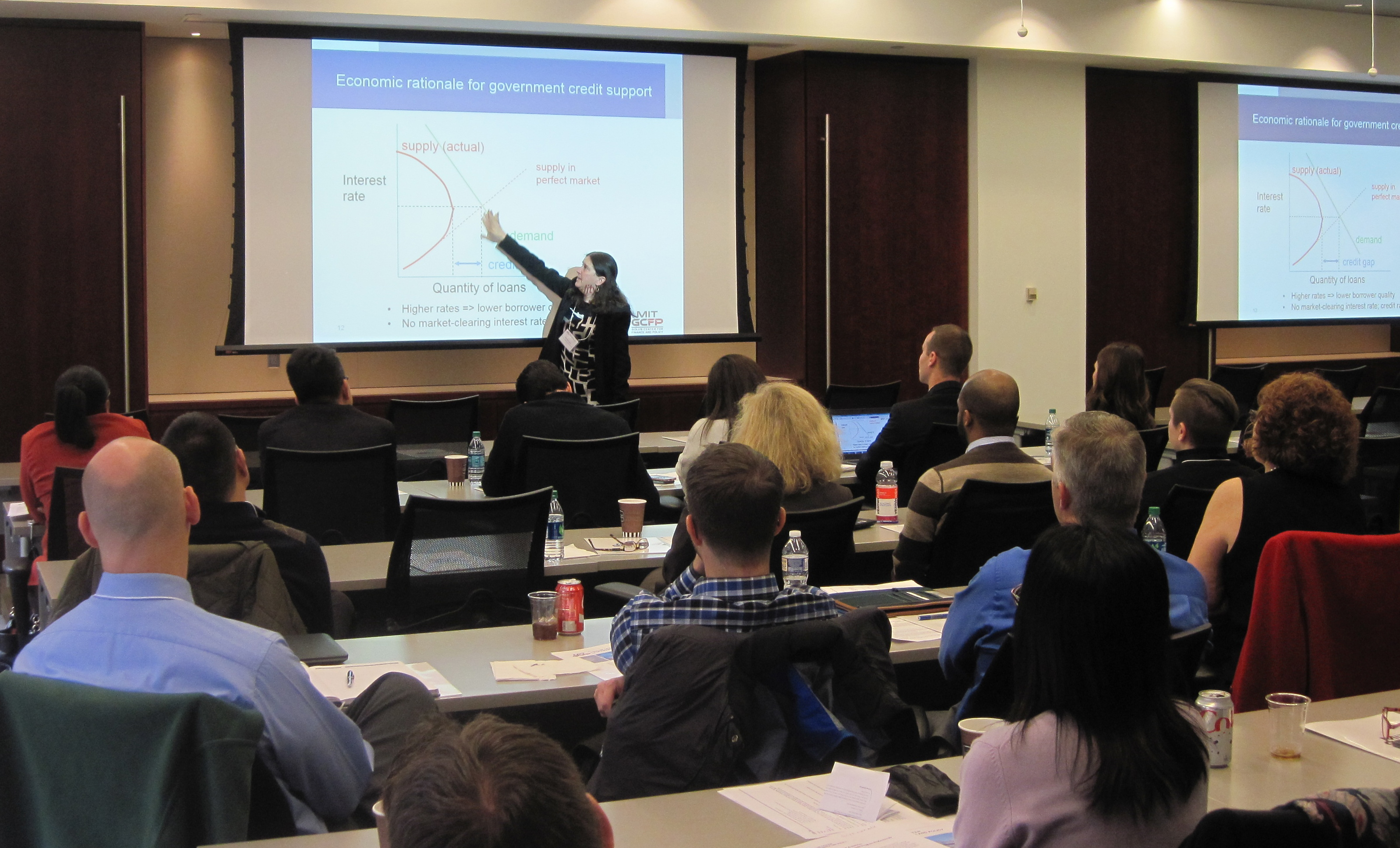 Photos from second round of Mission & Metrics: Finance Training for Federal Credit Program Professionals