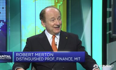 Prof. Merton discusses retirement finance on CNBC