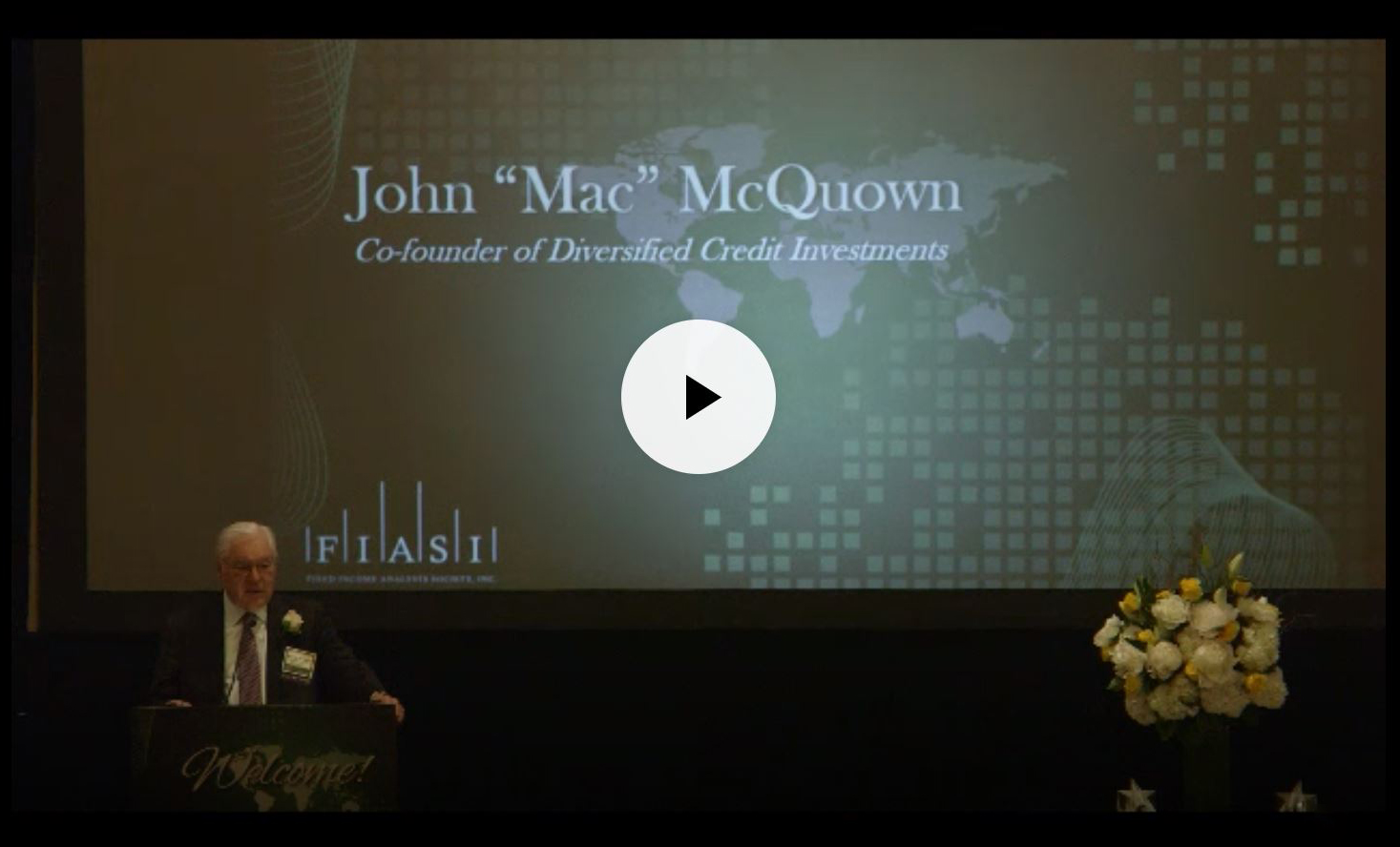 GCFP Advisor McQuown elected to Fixed Income Hall of Fame