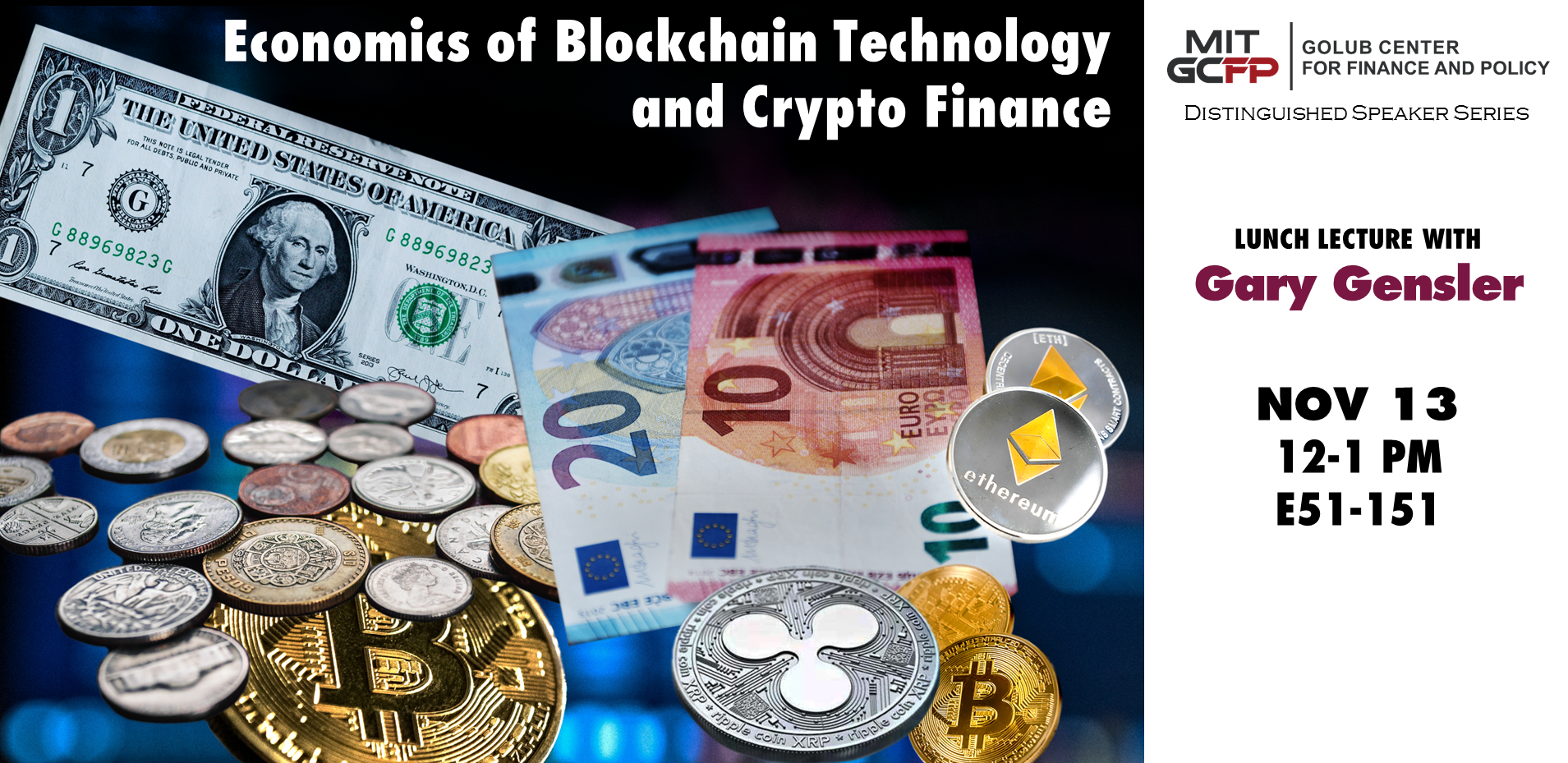 Economics of Blockchain Technology and Crypto Finance (stream link and slides available)