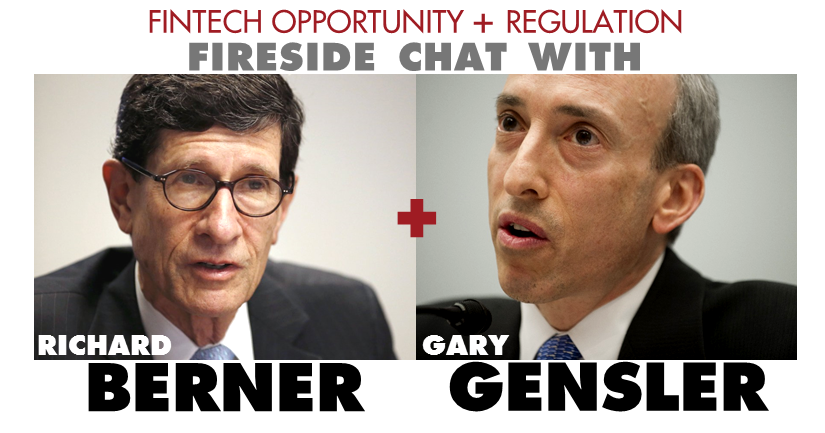 Side-by-side pictures of Richard Berner and Gary Gensler
