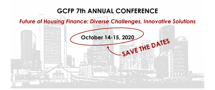 SAVE THE DATES: Oct 14-15, GCFP 7th ANNUAL CONFERENCE