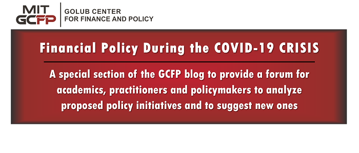 Financial Policy During the COVID-19 Crisis: A new series by GCFP