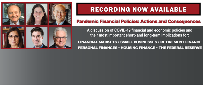 Recording now available of our May 14 GCFP Webinar on financial policy response to COVID-19