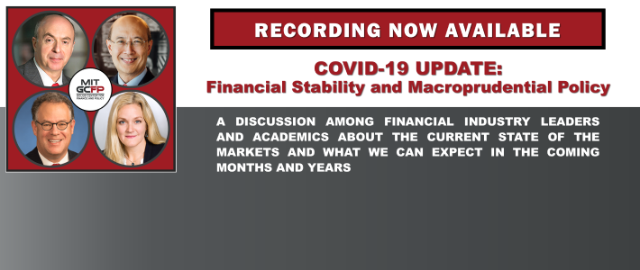 Recording now available of our June 23 webinar – COVID-19 UPDATE: Financial Stability and Macroprudential Policy