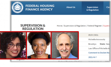 Addressing the role of FHFA in dismantling racial discrimination within the U.S. housing finance system